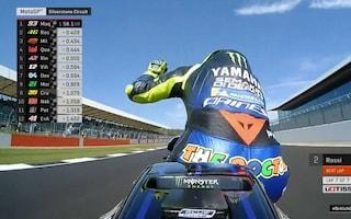MotoGP, Marquez beffa Rossi nel finale, sua la pole di Silverstone