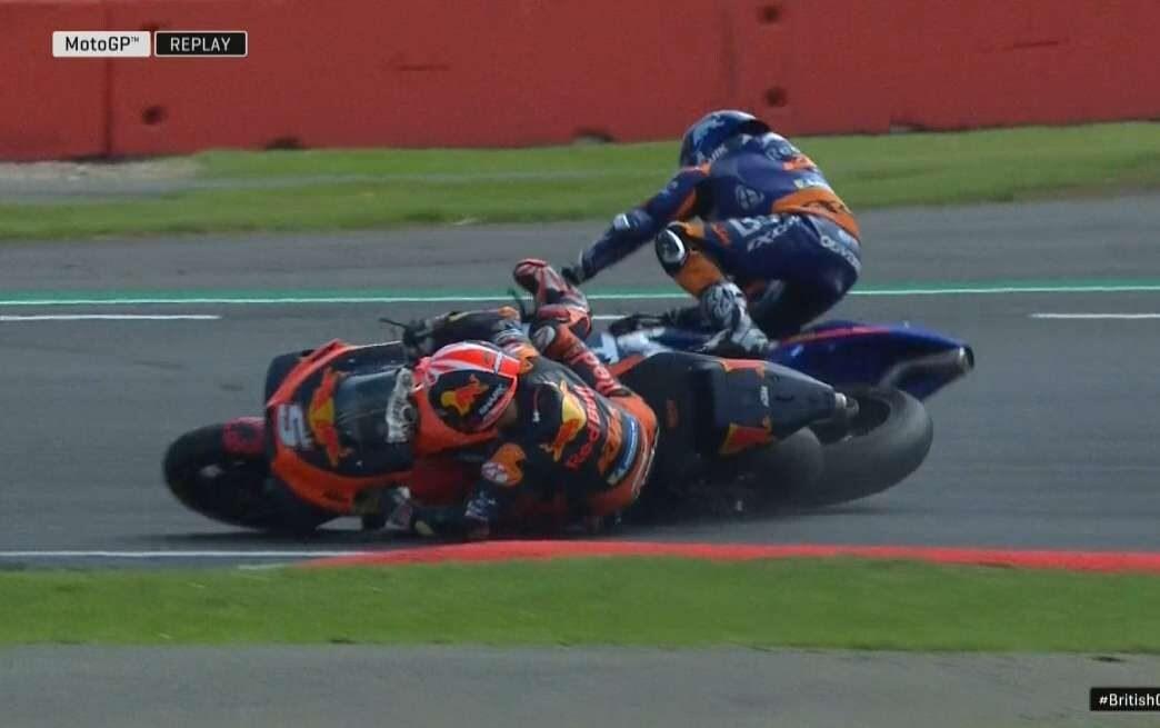 L'incidente tra Zarco e Oliveira / MotoGP.com