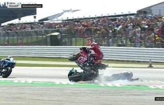 MotoGP, brutto incidente per Dovizioso: le condizioni del pilota Ducati