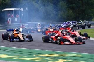 Leclerc non punito per il contatto con Bottas, a salvare il pilota Ferrari è stato l'elicottero
