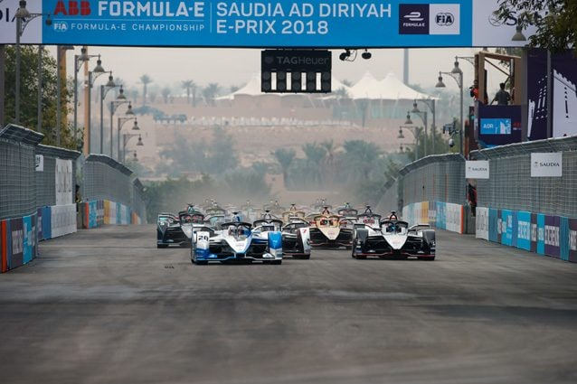 La Formula E in Arabia Saudita – Getty images