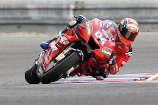 MotoGP Brno, Dovizioso si prende il warm up, 19° Rossi