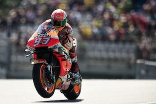 MotoGP, in Austria c'è ancora Marquez in pole, 10° Rossi