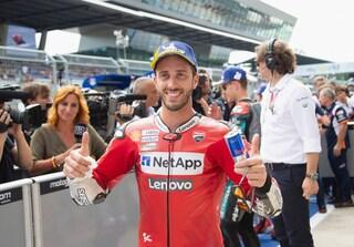 """MotoGP, Dovizioso: """"A Silverstone con il morale molto alto"""""""