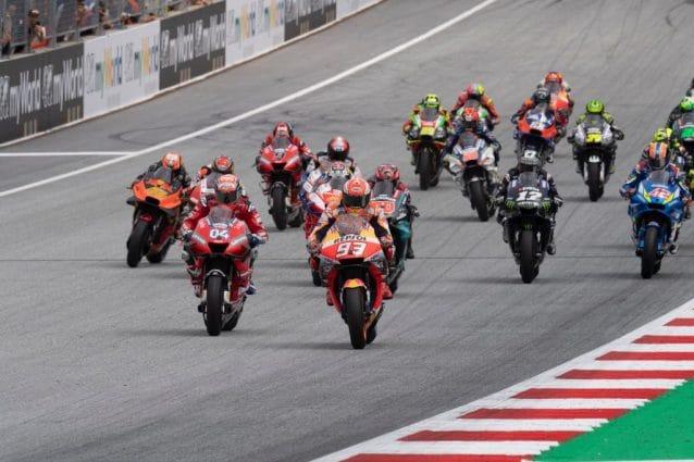 la partenza del Gran Premio d'Austria al Red Bull RIng / Getty