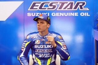 """MotoGP: contusione polmonare per Mir, lo spagnolo dall'ospedale rassicura: """"Sto bene"""""""