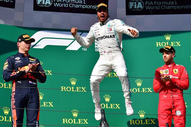 Lewis Hamilton – Getty images