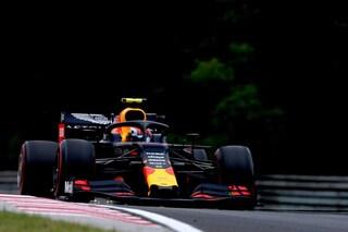 F1 GP Ungheria, Prove libere 2: la pioggia rovina tutto, le due Red Bull chiudono in testa