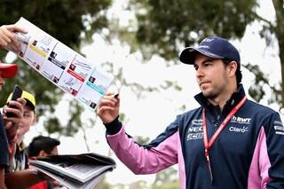 Ufficiale, Perez rinnova con la Racing Point fino al 2022