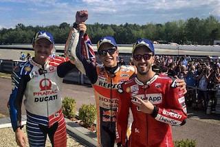 """MotoGP, Dovizioso: """"Gara perfetta, ma contro Marquez non è sufficiente"""""""