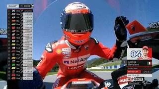 MotoGP Austria, Dovizioso davanti a Marquez, 5° Rossi