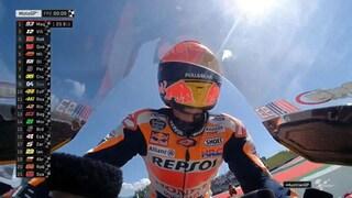 MotoGP Austria, Marquez mette le cose in chiaro, Rossi fuori dai dieci
