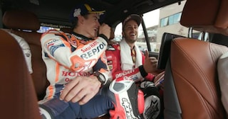 MotoGP, video inedito: Dovizioso e Marquez se la ridono dopo il duello in Austria