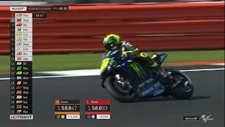 MotoGP, Quartararo-Rossi: uno-due sotto il record di Silverstone