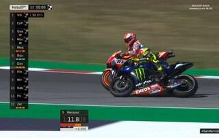 MotoGP, Valentino Rossi vs Marc Marquez: il malinteso di Misano secondo lo spagnolo