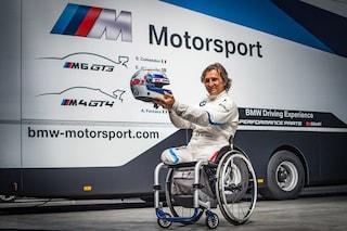 Zanardi torna in pista al Mugello, correrà con BMW nel campionato GT
