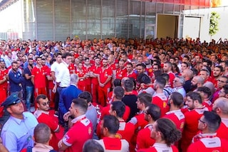 "Festa Ferrari a Maranello per Leclerc, il monegasco: ""Ho vissuto 8 giorni incredibili"""