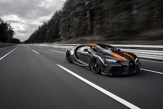 Bugatti Chiron è l'auto più veloce del mondo, stabilito il nuovo record a 490 km/h