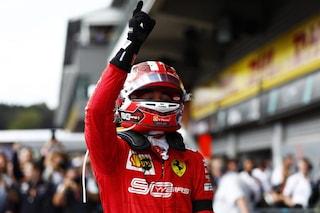 """Leclerc: """"Realizzo un sogno che avevo da bambino, questa vittoria è per Hubert"""""""