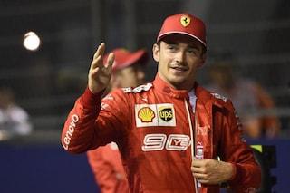 """Leclerc: """"Ferrari grandiosa, non mi aspettavo di dare filo da torcere alla Mercedes"""""""