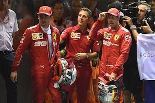 """Leclerc ottimista: """"Ferrari ok, punto alla pole"""". Vettel: """"Asciutto o bagnato non cambia"""""""