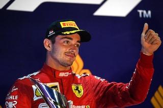 """Leclerc fa mea culpa: """"A Singapore reazione eccessiva, ho sbagliato"""""""