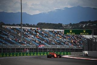 F1 GP Russia, Prove libere 1: comanda Leclerc, Vettel è 3° dietro a Verstappen