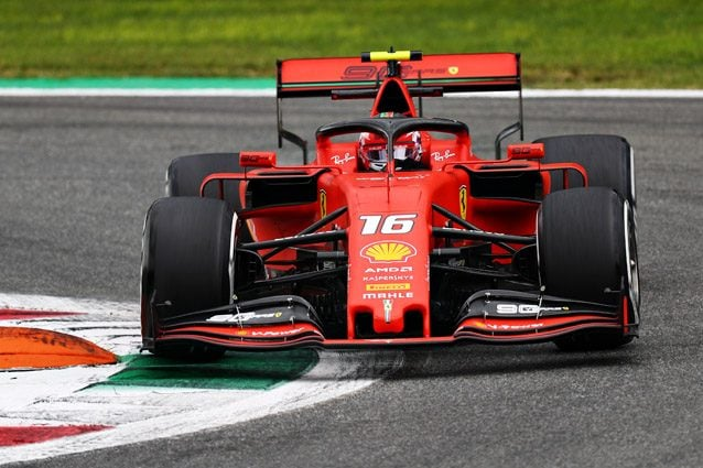 Charles Leclerc – Getty images
