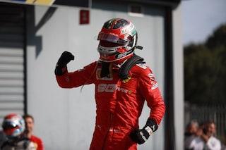 Leclerc nel firmamento Ferrari, a Monza è nata una stella
