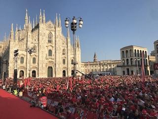 Festa Ferrari per i 90 anni della Scuderia, sul palco i grandi di presente e passato
