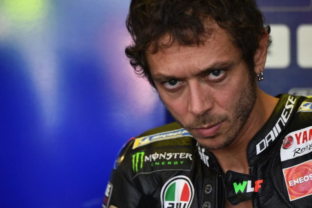 Valentino Rossi, 40 anni / Getty