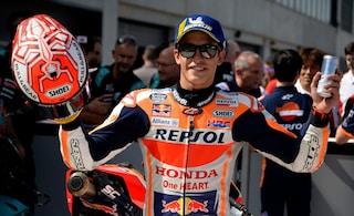 """MotoGP, Marquez: """"La pole? Al box mi hanno detto 'Non fare il matto""""'"""