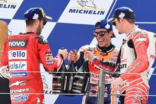 "MotoGP Aragon, Marquez: ""Dovizioso non rinuncia mai"""