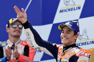MotoGP, Marquez campione in Thailandia se...