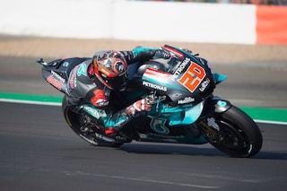 MotoGP, a Misano Quartararo è subito una bega, 9° Rossi