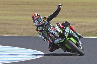 Superbike, imbattibile Rea: vince in Francia e conquista il quinto mondiale consecutivo