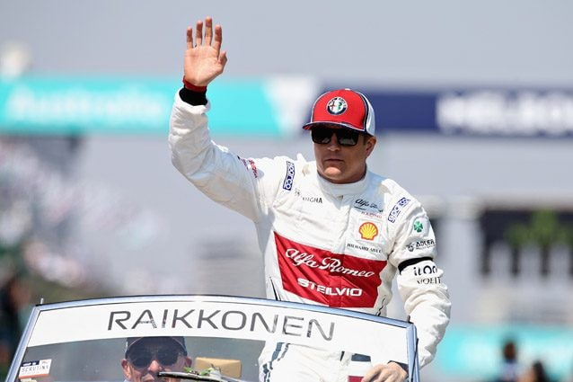 Kimi Raikkonen – Getty images