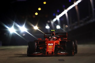 F1 GP Singapore, Qualifiche: Leclerc in pole, Hamilton al suo fianco davanti a Vettel