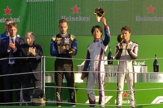 F2: Mick Schumacher costretto nelle retrovie da un guasto, Matsushita vince nel ricordo di Hubert
