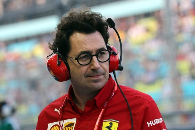 Il team principal Ferrari Mattia Binotto – LaPresse
