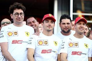 """Binotto ammette: """"Abbiamo pensato allo scambio di posizioni tra Vettel e Leclerc"""""""