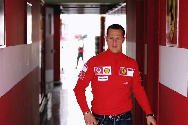 Michael Schumacher – Getty images
