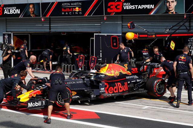 La Red Bull di Max Verstappen – Getty images