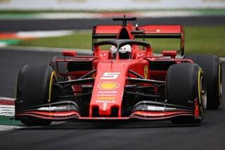 F1 GP d'Italia, Prove libere 3: lampo Vettel, a Monza comanda sempre la Ferrari