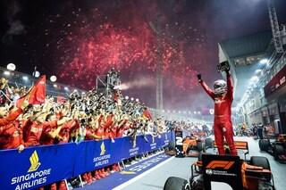 Rinascita Vettel: superato Ascari, ora è il 3° pilota più vincente nella storia Ferrari