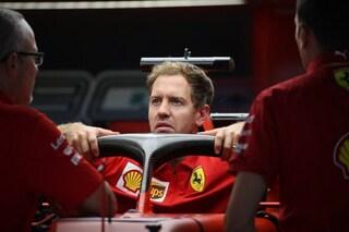 """Vettel: """"La Ferrari è cresciuta, ma Mercedes rimane la squadra da battere"""""""