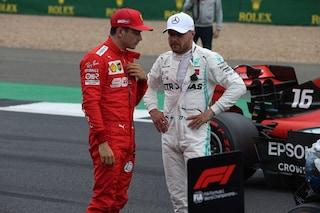 """Bottas: """"La Ferrari è migliorata molto. La rimonta di Leclerc? Ho ancora un buon margine"""""""
