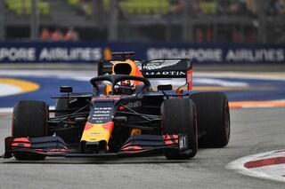 F1 GP Singapore, Prove libere 1: Verstappen davanti a Vettel. Problemi per Leclerc, Bottas ko