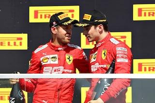 """Leclerc: """"Singapore difficile, ma la Ferrari è motivata"""". Vettel: """"Pronti a giocarcela"""""""