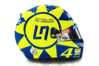 F1, Lando Norris a Monza con il casco dedicato a Valentino Rossi